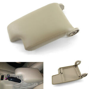 Car Center Armrest Cover Console Lid Beige Direct Fit For Bmw 3 Series E46 99 04