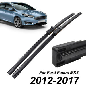 2pcs 28 Front Window Windshield Wiper Blades For Ford Focus Mk3 2012 2017 New