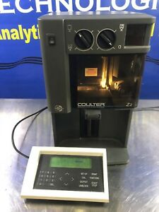 Coulture Z2 Particle Count Size Analyzer With Keypad