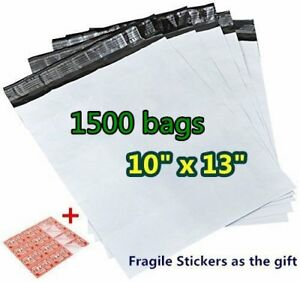 1500 10 X 13 Poly Mailers Shipping Plastic Bags Self Sealing Envelopes Wholesale