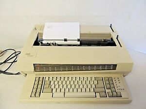 Ibm Wheelwriter 1500 By Lexmark Tested And Working