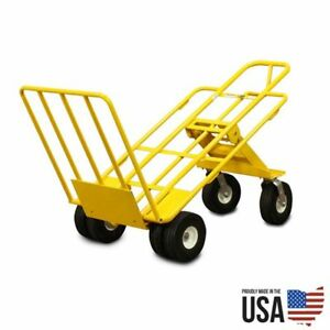 Multi Mover Xt Commercial 3 Position Dolly Heavy Duty Hand Truck 1k Lb Capacity