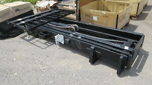 Jcb 333 t2818 Forklift Mast 10 000lb 22ft 3 Stage 60 Forks 100rt mt 003