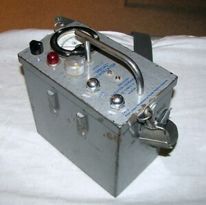 Vintage Precision Radiation Instruments Model 117 Special Scintillator