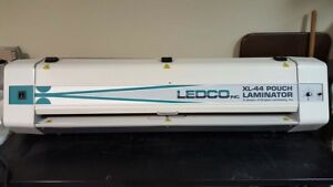 Ledco Xl 44 Pouch Laminator Mount Posters To Foam Board With Ease Sign Maker