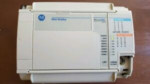 Allen bradley Micrologix 1500 1764 24bwa With 1764 lrp Cpu Excellent Condition