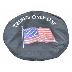 Jeep Wrangler American Flag Tire Cover