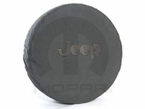 2008 2013 Jeep Wrangler Deluxe Anti Theft Spare Tire Cover Black W Black J