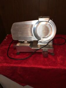 9 Commercial Meat Slicer Fleetwood Mignon 220 Deli restaurant Great Cond