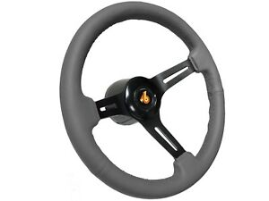 1982 1987 Buick Grand National S6 Sport Grey Steering Wheel Covert Black Kit