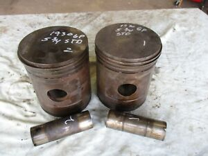 1930 John Deere Gp Used 5 3 4 Inch Pistons And Pins Antique Tractor