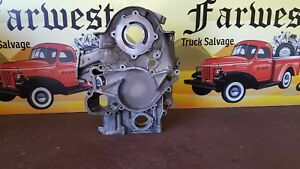 94 03 Ford F250 F350 Super Duty 7 3 Powerstroke Diesel Engine Timing Cover