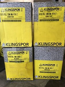 Klingspor 3 Quick Roll Connects 120g very Fine coarse Surface Conditioning Disc