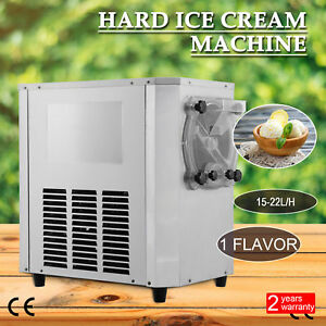 15 22l h Commercial Frozen Hard Ice Cream Machine Maker 15 22l h Stainless Steel