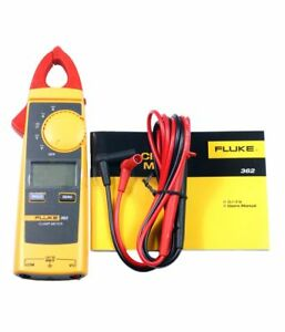 Genuine Sealed Pack Fluke 362 Clamp Meter With Test Leads Express Delivery