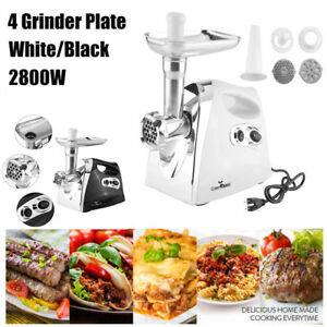 Electric 2800w Meat Grinder Home Mincing Sausage Stuffer Stainless Steel As