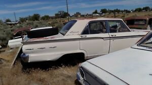 1964 Ford Fairlane 500 Door Striker Nice Dry Desert Part 1965 1963