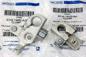 2011 2014 Ford Edge Mkx Positive Negative Battery Terminal Clamp Set Oem