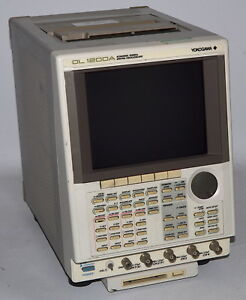 Yokogawa Dl1200a 100 Mhz 4 Channel Digital Oscilloscope W Printer used