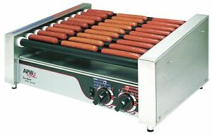 Apw Wyott Hrs 31s Hot Dog X pert Series Slanted Roller Grill