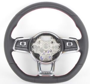 Genuine Vw 5g0419091 Gti Steering Wheel With Dsg And Cnl Paddles Golf Mk 7