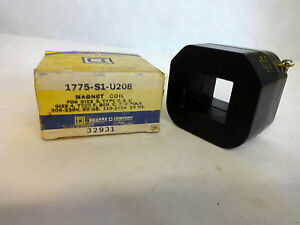 New In Box Square D 1775 s1 u20b Coil 110 120v 25 Hz 208 220v 60 Hz