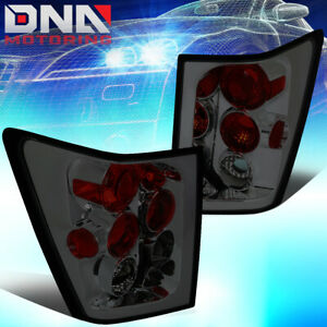 For 2005 2006 Jeep Grand Cherokee Smoked Lens Altezza Tail Light Rear Brake Lamp