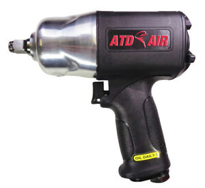 Atd Tools 2106 1 2 Dr Super duty Composite Air Impact Wrench