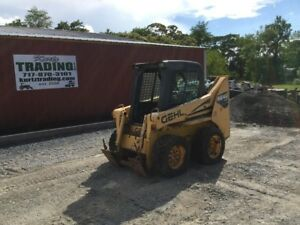 2006 Gehl 4640 Skid Steer Loader W Cab No Door Needs Engine Work