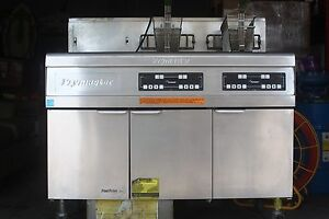 Frymaster Footprint Gas Deep Fryer Model Fmrh255se Free Freight