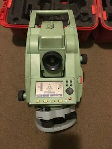 Leica Tcr405 5 Total Station Only For Surveying Free Shipping