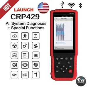 Launch Crp429 Obd2 Obdii W All System Diagnostic Scan Tool For Ford Gm Bmw Jeep