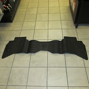 2013 Dodge Ram 1500 Quad Cab Rear Black Slush Mats Mopar Oem
