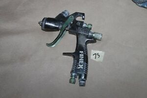 Finex Fx300 Hvlp Spray Gun Green Rare 75