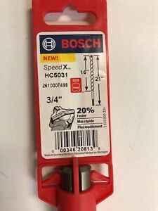 Bosch 3 4 In X 16 In X 21 In Sds max Speed x Carbide Rotary Hammer Drill Bit