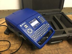 Brady Bmp71 Label Printer With Hard Case And Power Cord 02