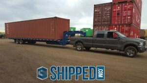 We Deliver Used 40ft High Cube Shipping Container For Home Storage In Minnesota