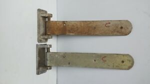 Walk in Cooler freezer Door Hinges heavy Duty 19 Long By 3 one Pair