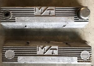 Vintage Micky Thompson Sbc Valve Covers Pair