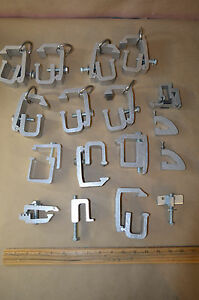 Lot Of 15 Universal Hd Camper Canopy Shell Topper Aluminum Clamp Bracket 1863