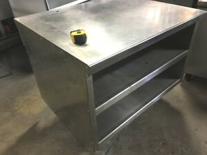 Table Stainless steel Cabinet