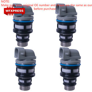 4 Pcs Fuel Injectors For Chevy Gmc Cavalier Buick Pontica 2 2l 17113124 17113197