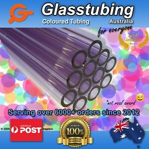 Glass Tubing Borosilicate 3 3 Blowing Tubes Pyrex Various Colours Discounted
