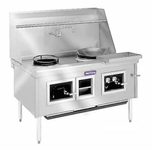 Imperial Range Icra 4 114 Chinese Gas Range 4 Burners Water Cooled Top