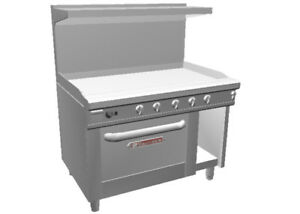 Southbend 448ac 4g 48 Ultimate Range W 48 Manual Griddle Convection Oven