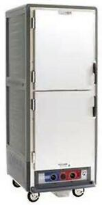 Metro C539 cds l gy 71 Mobile Holding Proofing Cabinet Lip Load Solid Dutch