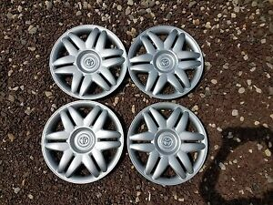 Set Of 4 New 2000 00 2001 01 Camry 15 Hubcaps Wheel Covers 61104 Free Shipping