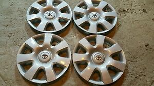 Set Of 4 Toyota Camry 15 Hubcaps Wheel Covers 61115 2002 2003 2004