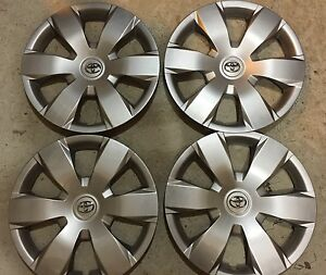 Set Of 4 61137 Toyota Camry Hubcaps Wheel Covers 16 In 2007 08 09 10 11 12 New