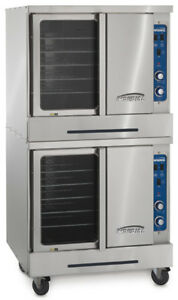 Imperial Range Turbo flow Manual Double Deck Gas Stainless Convection Oven